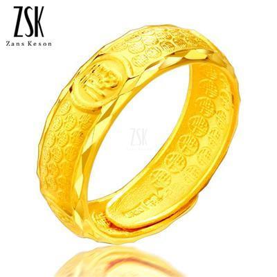 福满 千足金男戒,6g男士黄金戒指,款式,价格,图片,黄金结婚戒
