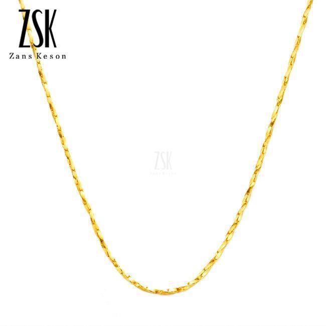 千足金项链,深圳4克黄金项链,女士黄金项链,批发,价格,款式,