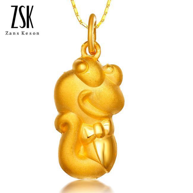吊坠,黄金吊坠,千足金项链,黄金项链,周大福卡通可爱吊坠,款式,